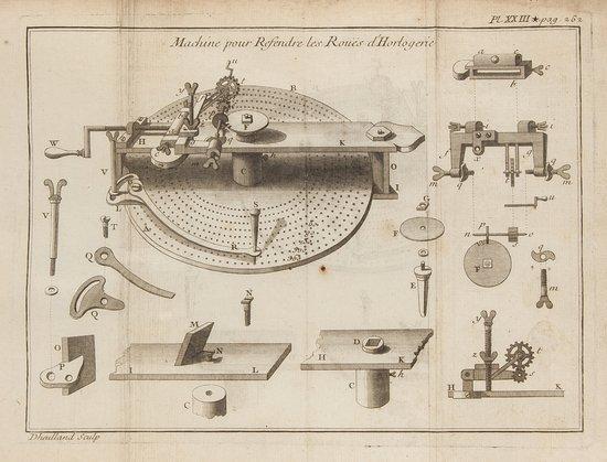 Allexandre (Jacques) Traité Général des Horloges