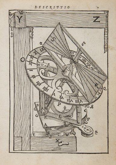 Clavius (Christoph) Fabrica et usus instrumenti ad