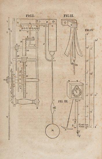Huygens (Christian) Horologium oscillatorium