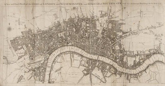 Stow (John) A Survey Of The Cities Of London And W