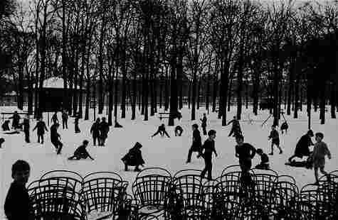 Edouard Boubat (1923-1999) Jardin du Luxembourg, 1