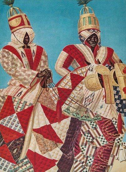 Africa.- Iacovleff (Alexandre) Dessins et Peinture