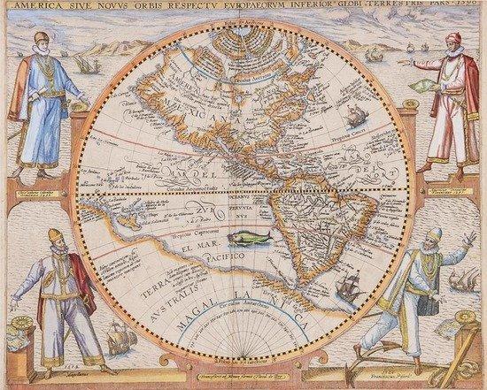 De Bry (Theodore) America sive Novus Orbis Respect