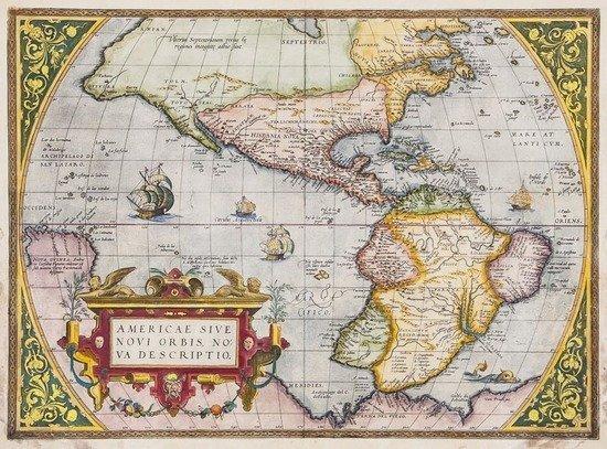Ortelius (Abraham) Americae sive Novi Orbis, Nova