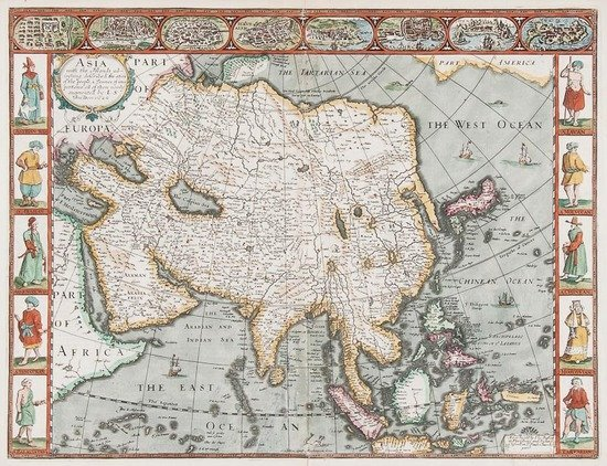 Asia.- Speed (John) Asia with the Islands adioynin
