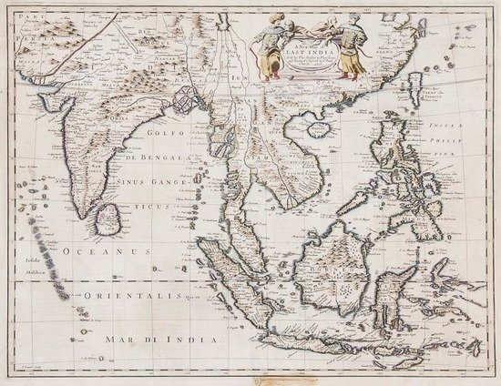 -. Speed (John) A New Map of East India