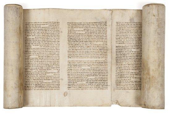 Hebrew manuscript.- Ezechiel