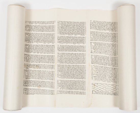 Hebrew manuscript.- Samaritan Pentateuch