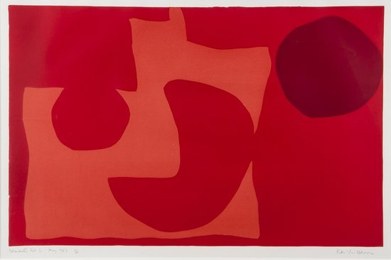 Patrick Heron (1920-1999) Winchester Red I