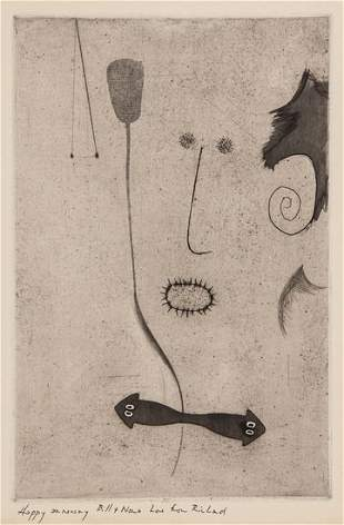 Richard Hamilton (1922-2011) Self-Portrait