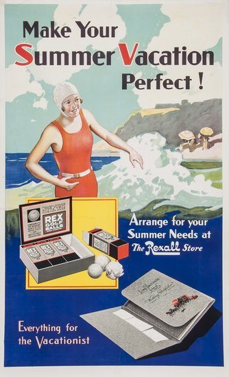 ANONYMOUS REXALL, Perfect Summer vacatio