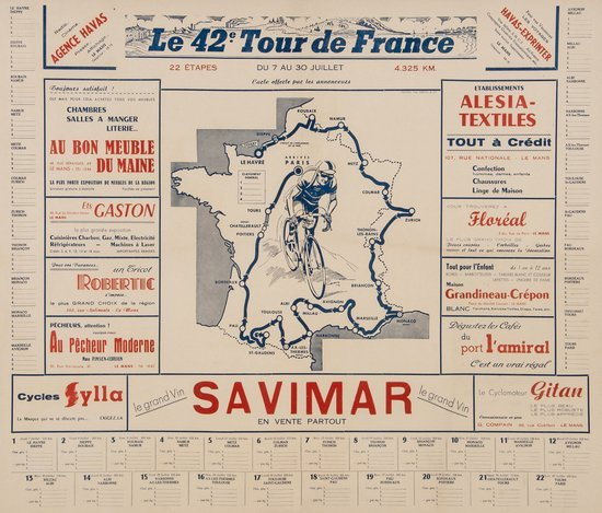 ANONYMOUS SAVIMAR, 42e tour de France