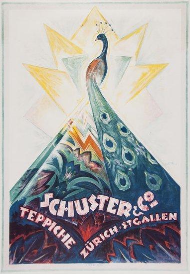 BOECKLI, Carl  (1889-1970) SCHUSTER & Co.Teppiche