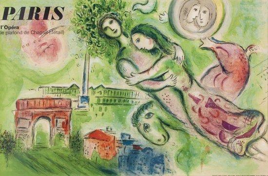 CHAGALL, Marc (1887-1985) PARIS L'OPERA