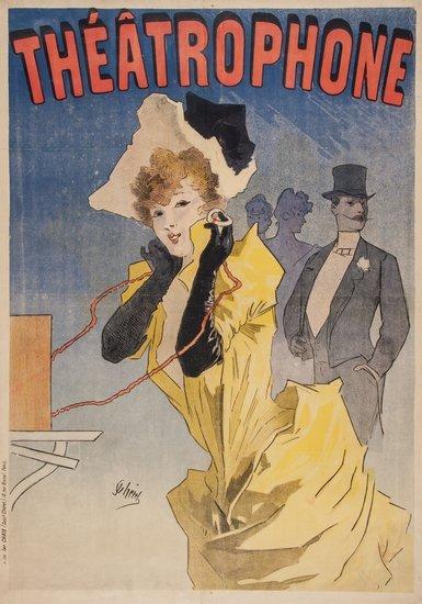 CHERET, Jules (1836-1932) THEATROPHONE