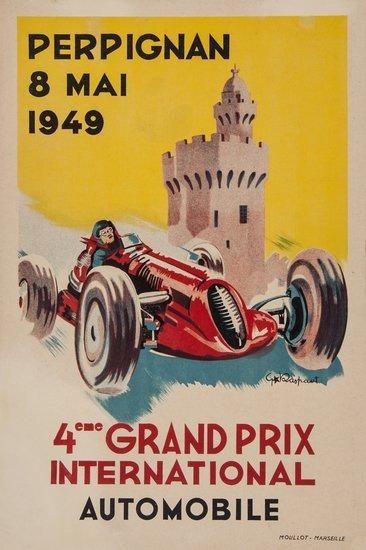 RASPAUT, G 4eme GRAND PRIX, PERPIGNAN, 1949