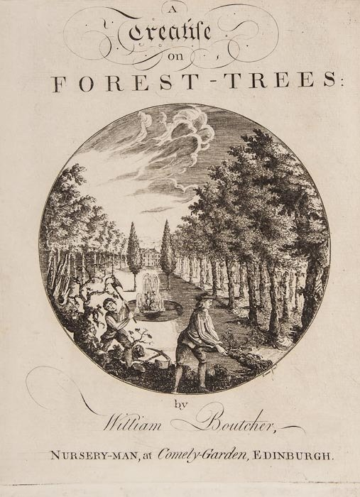 Boutcher (William) A Treatise on Forest-Trees