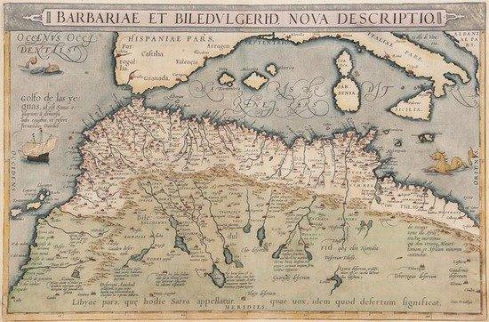 Ortelius (Abraham) Barbariae et Biledulgerid, Nova