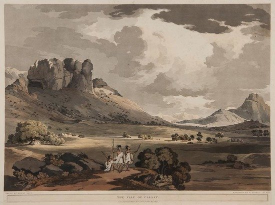 Salt (Henry) The Vale of Calaat