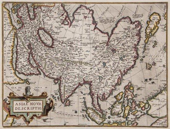 Asia.- Ortelius (Abraham) Asiae Nova Descriptio