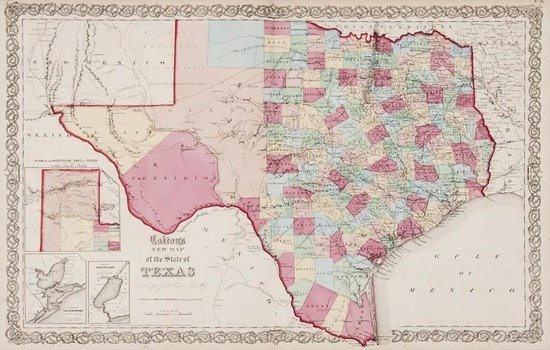 Colton (J.H.) Colton's General Atlas