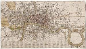 Smith Charles Smiths New Plan of London Westmi