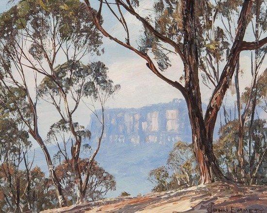 John Emmett (Australian, b.1927) Katoomba landscap