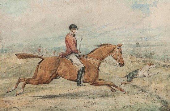Henry Alken (1785-1851) Hunt Scene