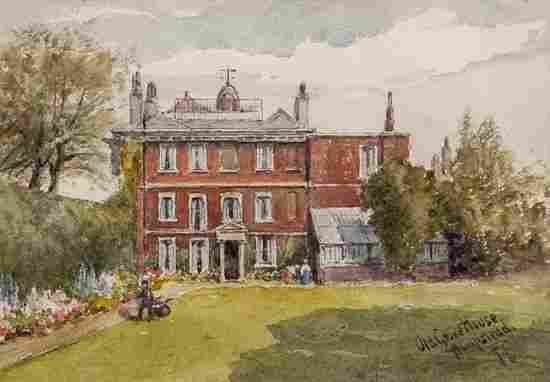 Fred Cook (fl.1878-1891) 2 views of Hampstead