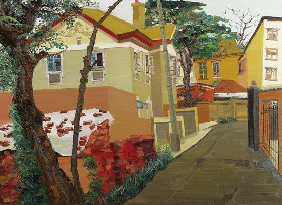Bai Fan Street Scene I, 2012