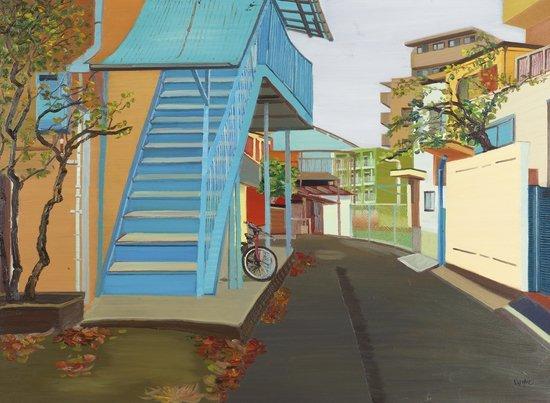 Bai Fan Street Scene II, 2012