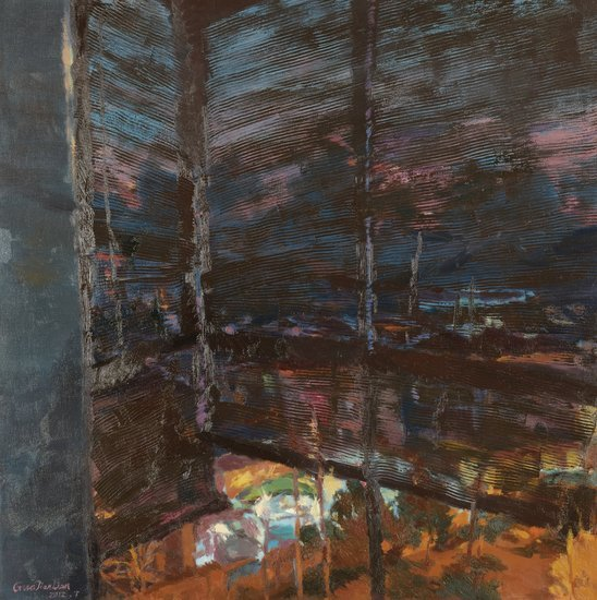 Guo Jianlian Shuttered Night VII, 2012