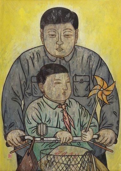 He Jian Father's Bicycle, 2007