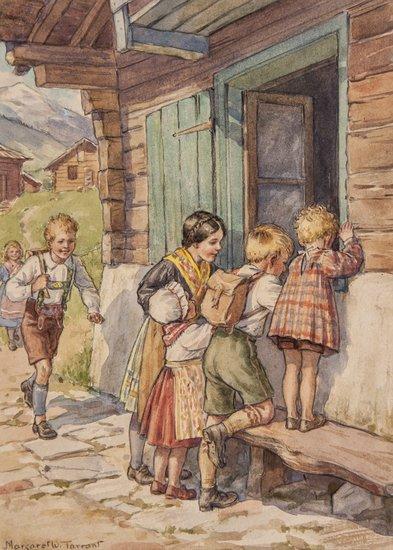 Tarrant (Margaret W.) Johann the Wood Carver