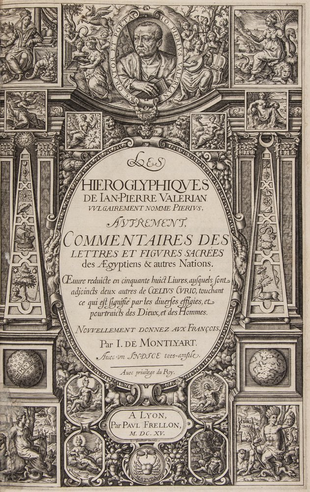 Valeriano Bolzani (Giovanni Piero) Les Hieroglyphi