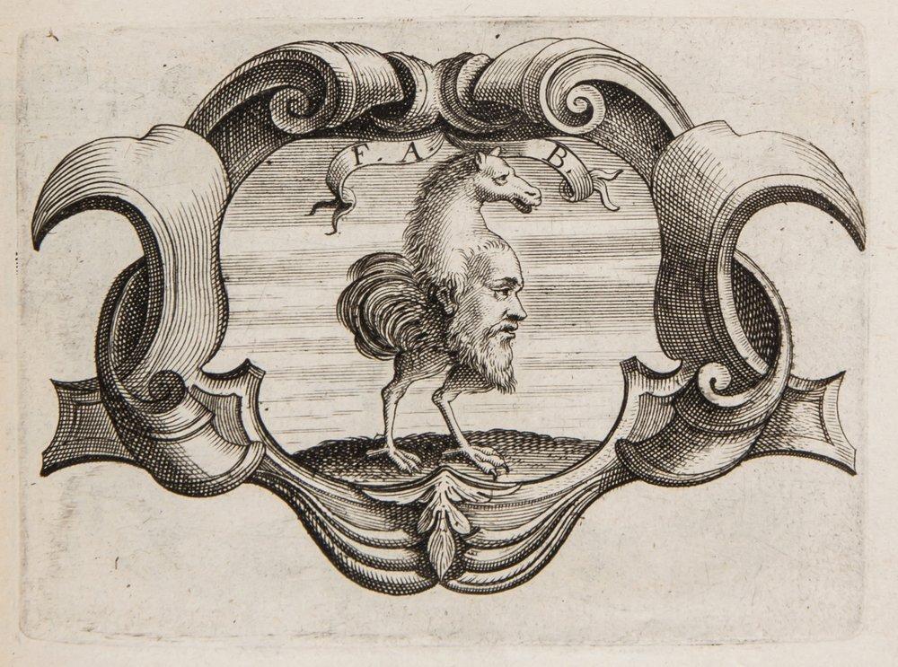 Heraldic.- Petra Sancta (Silvestro) De Symbolis He