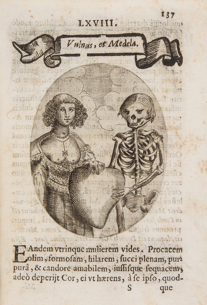 Pona (Francesco) Cardiomorphoseos sive ex Corde de