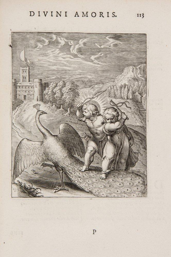 Vaenius (Otto) Amoris Divini Emblemata
