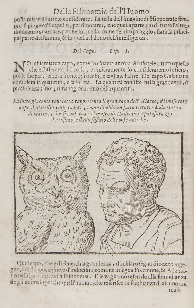 Porta (Giovanni Battista della) Della Fisonomia de