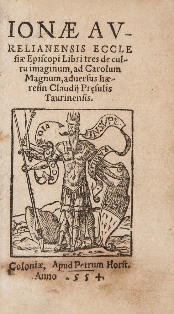 (Bishop of Orléans) Libri tres de Cultu Imaginum,
