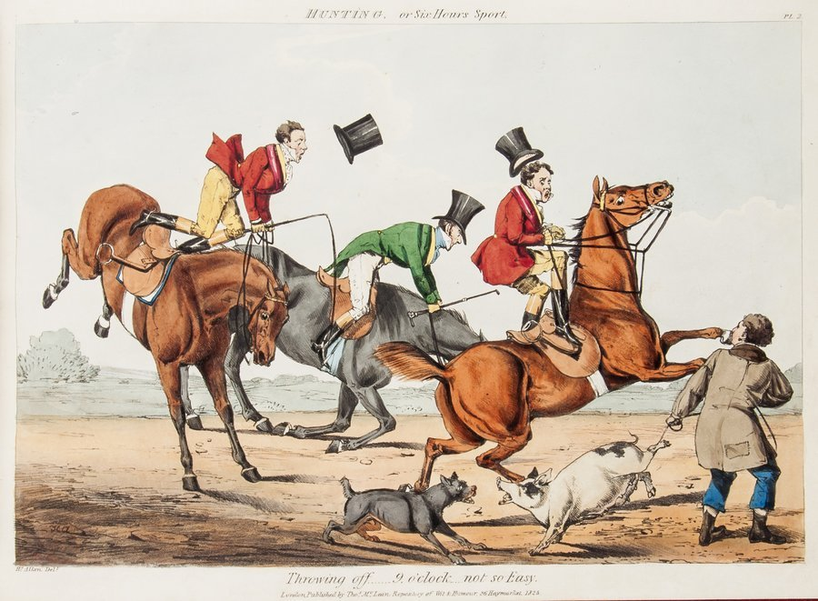 Alken (Henry) Hunting, or Six Hour's Sport, by Thr