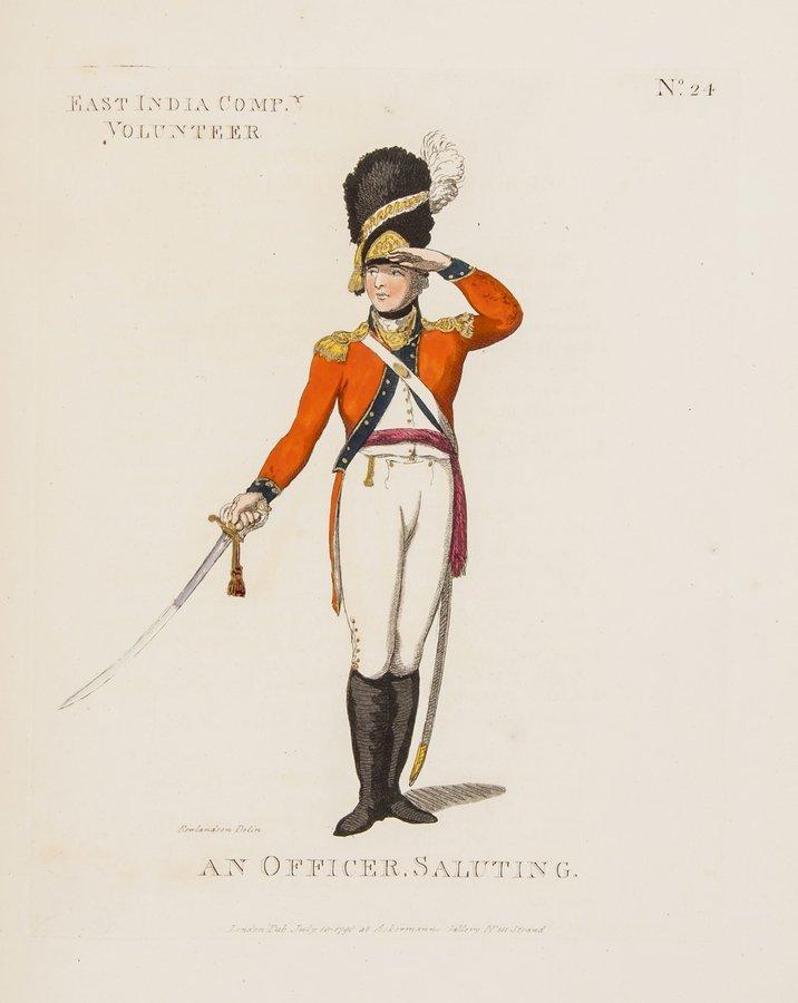 Rowlandson (Thomas) Loyal Volunteers of London & E