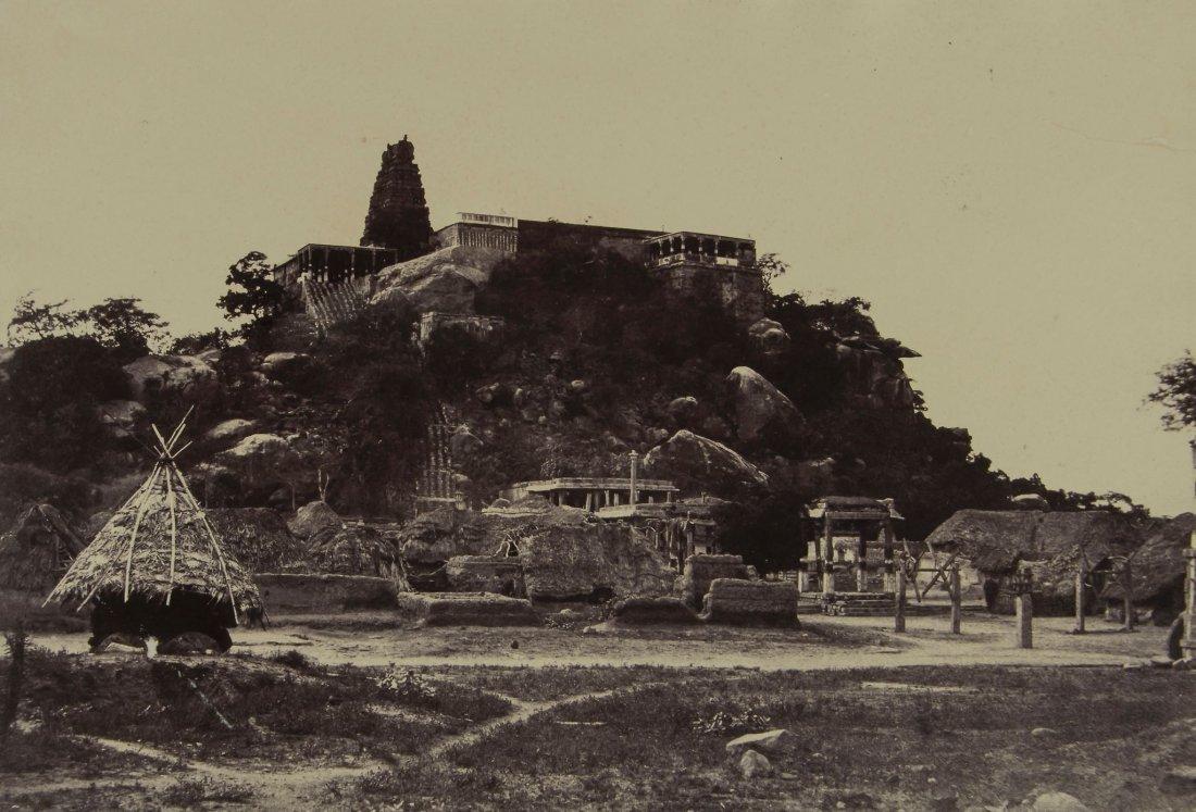 Linnaeus Tripe (1822-1902) - Pagoda at Veerali Mul