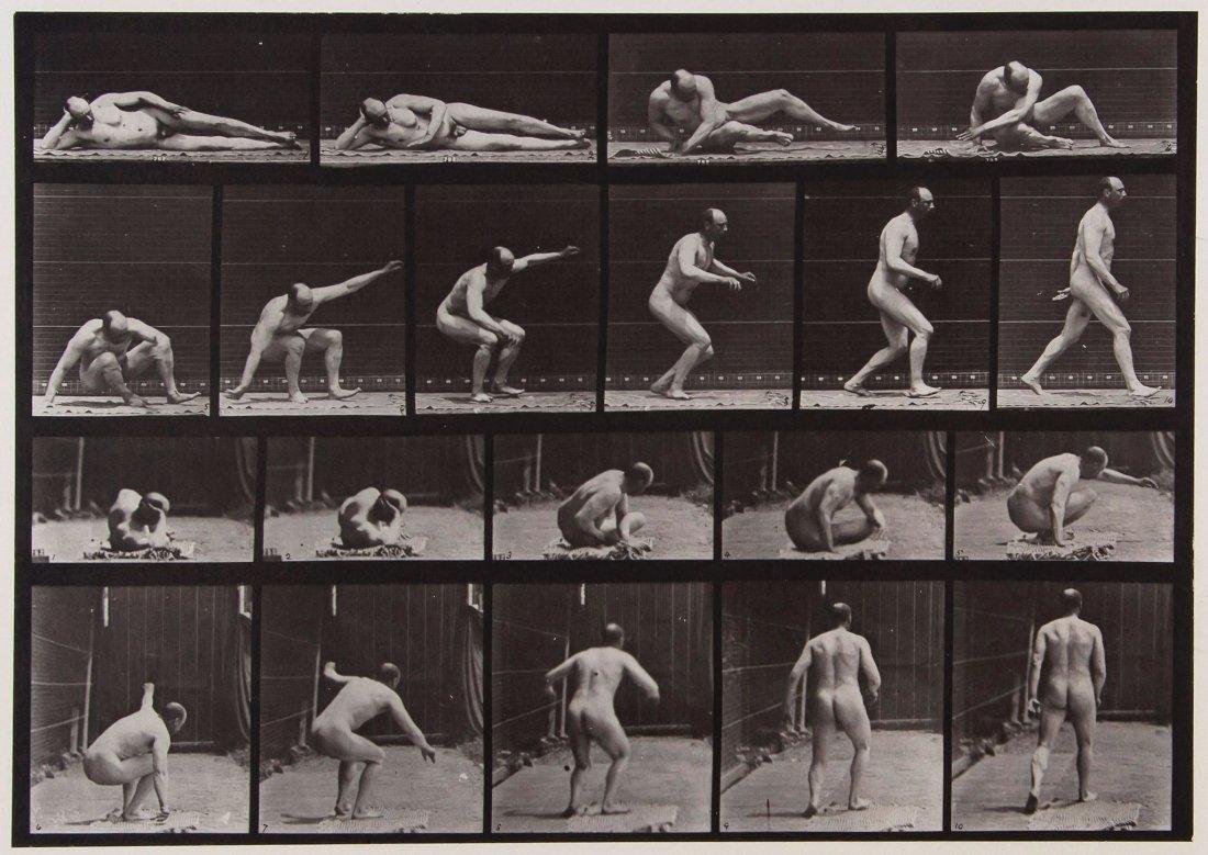 Eadweard Muybridge (1830-1904) - Arising from the