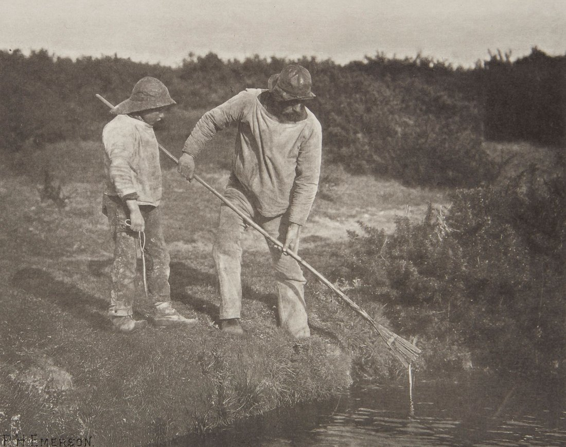 Peter Henry Emerson (1856-1936) - Eel-Picking in S