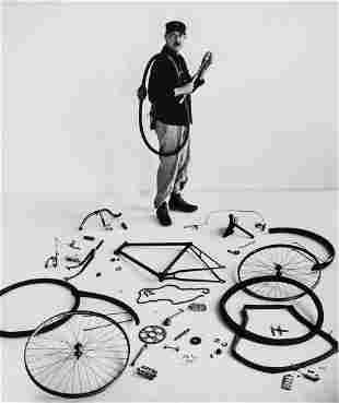 Robert Doisneau (1912-1994) - Le Vélo de Tati,