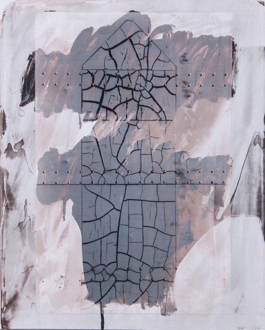 Robert Rauschenberg (1925-2008) - Cracked Surface