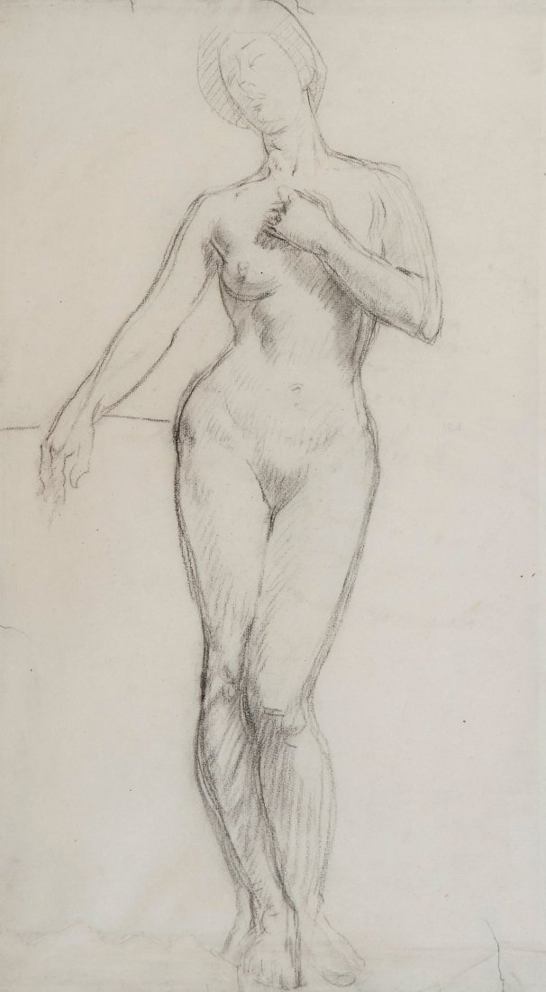 Henry Lamb (1883-1960) Female nude
