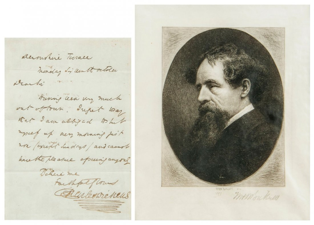 """Autograph Letter signed to """"Dear Sir"""", 1p"""
