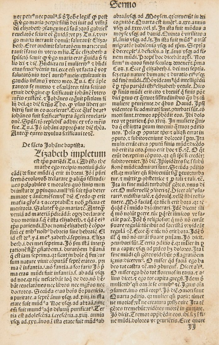 [Sermones de tempore et de sanctis] , part 3 only , 135